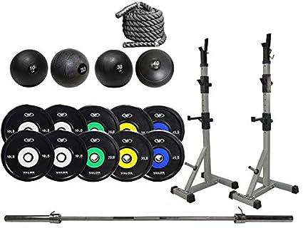 Amazon.com : valor athletics garage gym cross training studio set
