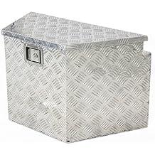 Best Choice Products SKY1485 Aluminum Trailer Tongue Tool Box (Horse Jet Ski Boat RV Truck ATV Heavy Duty Box)