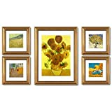 ZGP Home@Wall photo frame American Photo Wall Frame Wall Combination Living Room Fashion Hanging Wall Paintings Large Size Creative Simple Decorative Painting (Color : A)
