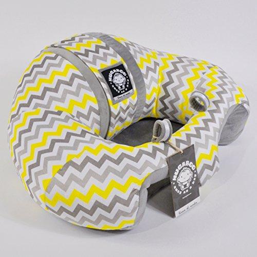 Buy yellow and grey car seat