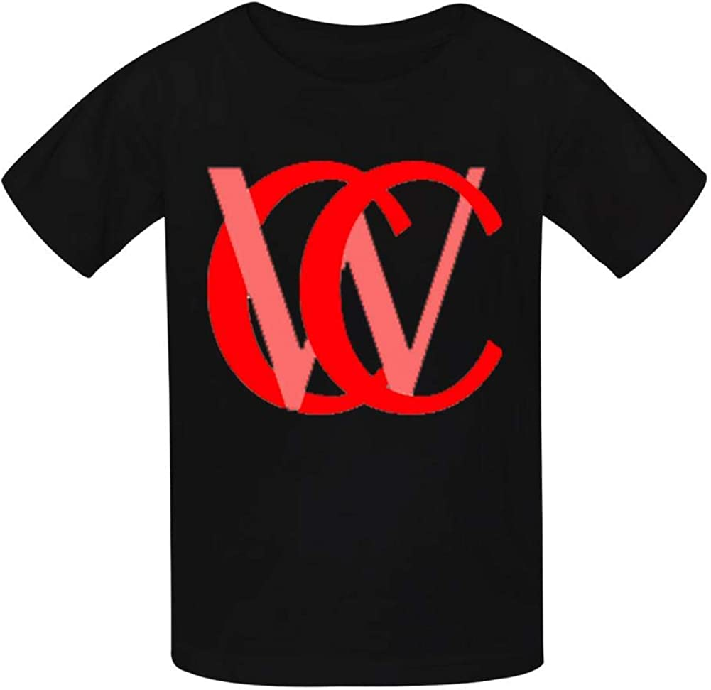Chad Wild Clay CWC Childrens Lightweight 100/% Cotton Short-Sleeved T-Shirt L Black