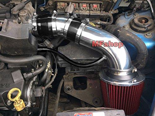 Chrysler Intake System - 2001 2002 2003 2004 2005 2006 2007 2008 2009 Chrysler PT Cruiser 2.4L L4 Non-Turbo Air Intake Filter Kit System (Black Accessories with Red Filter)