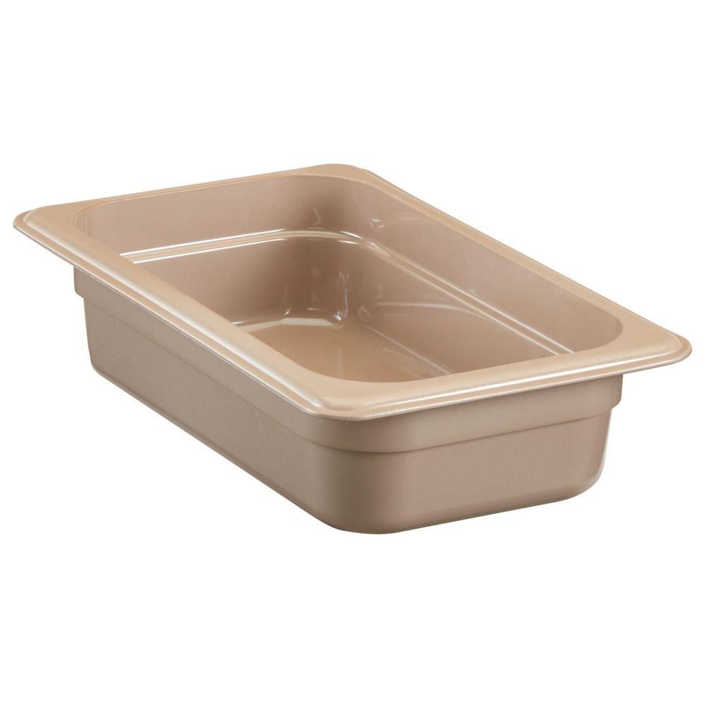 Cambro 42HP150 H-Pan Hot Food Pan, Fourth-Size, 1-13/16 Quart
