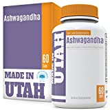 Organic Ashwagandha All Natural Anxiety Relief and Mood Enhancer to Help Combat Stress and Optimize Health