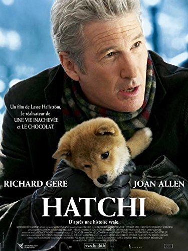 Hachiko: A Dog's Story Poster French 27x40 Richard Gere Sarah Roemer Joan Allen