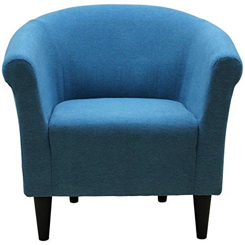 Parker Lane uch-mrl-tok Savannah Club Chair, Turquoise (Chair Savannah Club)
