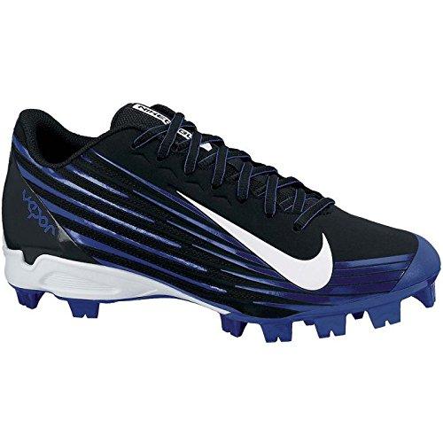Nike Heren Damp Staking 2 Laag Gevormd Honkbal Klamp Zwart / Haasten Blauw / Wit