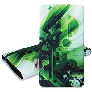 Stilbag Funda 'MIKA' para Sony Xperia Z3 compact - Diseño: Abstract Green