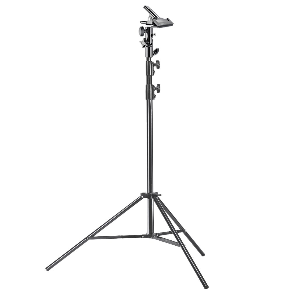 Neewer Photo Studio Pro 9 feet/260 centimetres Aluminum Alloy Light Stand and Heavy Duty Metal Clamp Holder for Reflectors for Photo Video Portrait Photography by Neewer