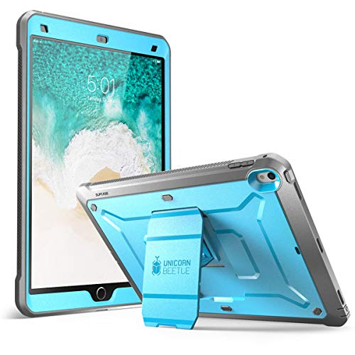 SUPCASE [Unicorn Beetle PRO] Case for iPad Air 3 (2019) & iPad Pro 10.5'' (2017), Heavy Duty with Built-in Screen Protector Full-Body Rugged Protective Apple iPad Pro 10.5'' / iPad Air 3 Case (Blue) (Apple Ipad Case Blue Air)