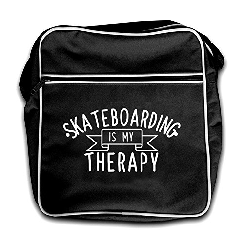 Retro My Is Black Flight Skateboarding Bag Therapy Red qv81TB