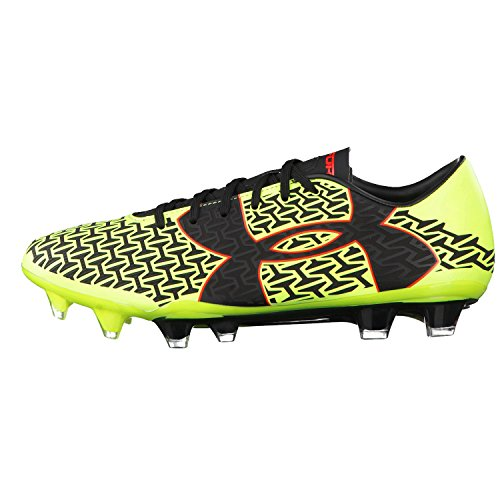 Scarpe calcio Under Armour, mod.CoreSpeed Force 2.0 FG Football, art. 1264201734, colore giallo, 13 tacchetti