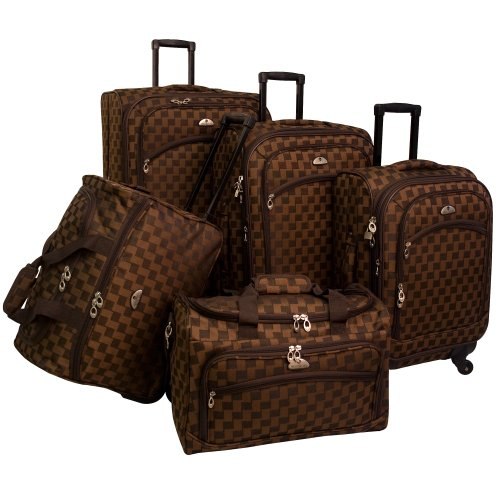 american-flyer-luggage-madrid-5-piece-spinner-set-brown-one-size