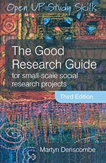 the good research guide for small scale social research projects rh amazon co uk denscombe 2010 the good research guide pdf martyn denscombe the good research guide pdf