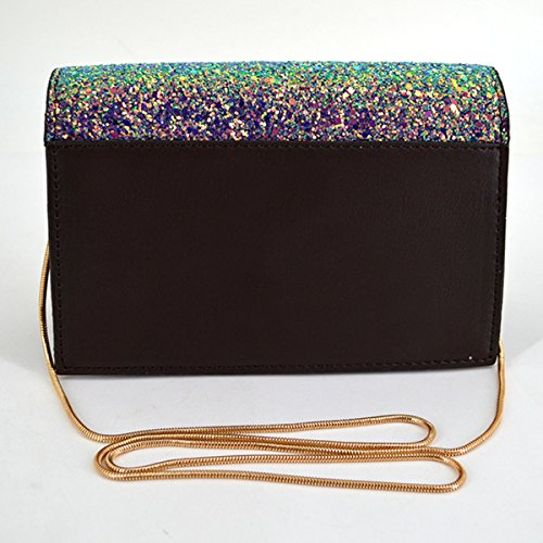 Handbags Transparent Evening Multicolor Messenger Meliya Square Mini Laser Shoulder Women Bags 1 Bags Bag PVC Holographic Crossbody n8qS0fw5S