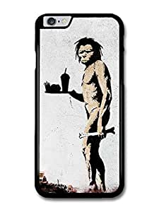 """AMAF ? Accessories Banksy Fast Food Street Art case for iPhone 6 Plus (5.5"""")"""