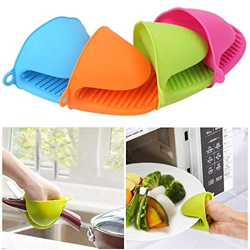 Oven Mitts & Oven Sleeves - 1pc Silicone Baking Take Heat Clamp Microwave Oven Gloves - Oven Microwave Glove Gloves Oven Mitts Sleeves Thermal Glove Bracelet Bake Heat Silicon Heater -