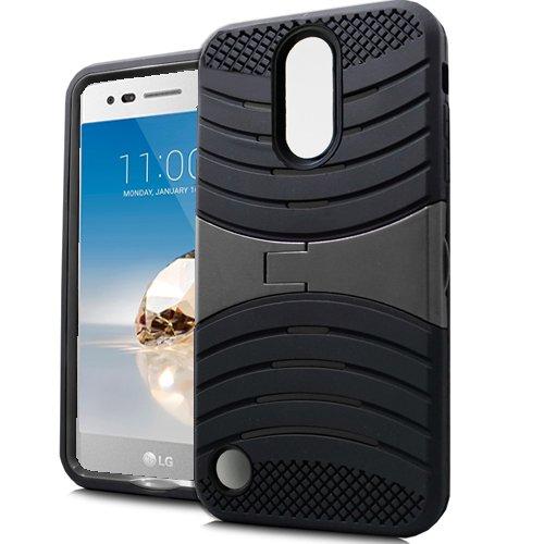 classic fit 730c9 179e9 Phone Case for Straight Talk LG Rebel 2 4G LTE/LG Fortune/LG Phoenix-3  GoPhone at&T/T-Mobile LG Aristo/LG V1 / LG LV3, Screen Protector + Hard  Armor ...