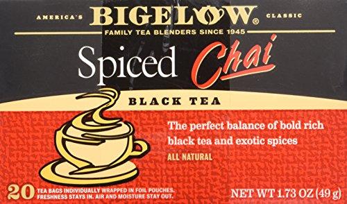 Bigelow, Tea Chai Spiced 20Bg - 1.73 Ounce