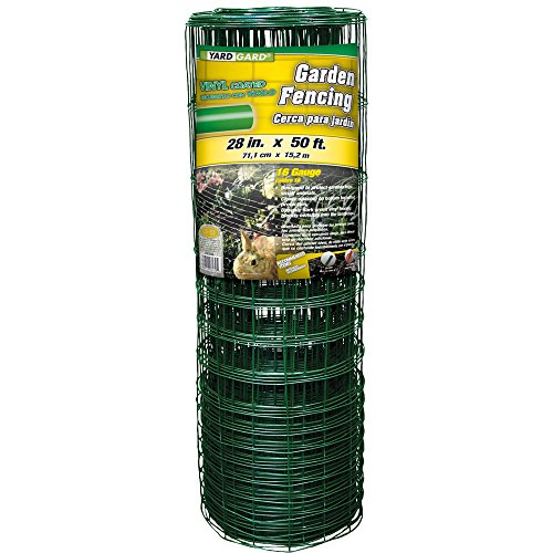 (YARDGARD 308376B Garden Rabbit Fence 28 inch x 50 Foot, Green)