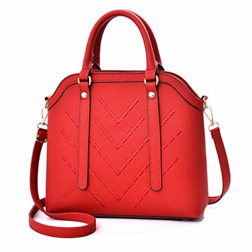Bolso de mujer Bolso de Hombro, rojo