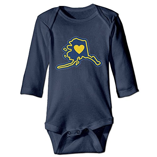 Jonesseller Baby Crawl Walk Looking For Alaska Infant Bodysuit Navy 18 Months
