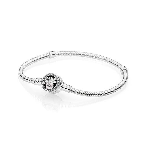fcb68531164f1 PANDORA Poetic Blooms Bracelet, Mixed Enamels & Clear CZ 590744CZ-21 ...