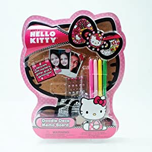 Hello kitty doodle deco memo board toys games - Decoration hello kitty chambre bebe ...