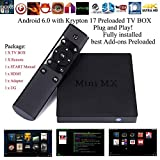 Kukele 2017 Newest Unlocked XBMC KODI 17 Add-ONS Absolutely Loaded Android 6.zero TV Field OTT Streaming Media Participant MINI MX - PLUG & PLAY Prepared KODI Handbook/WATCH Something