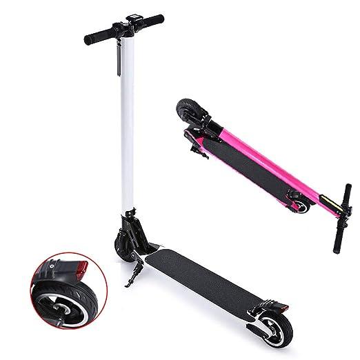 ertyu Patinete Electrico Adulto Scooter Electrico Plegable E ...