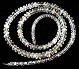"""Natural CEYLON MOONSTONE faceted beads,Rondelles beads ,3 mm - 5 mm ,16""""strand"""