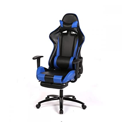 Bon Laptop Computers Video Game Chair Computer Gaming Chairs Racing Kids Adult  Best Desktop Office Blue Furniture