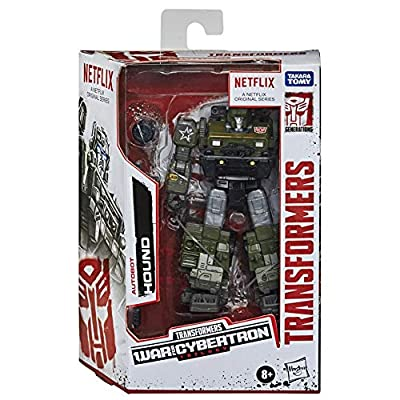 Transformers Netflix War for Cybertron Trilogy Deluxe Class Autobot Hound: Toys & Games