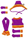 I-Dog Chill Purple & Orange Set #2