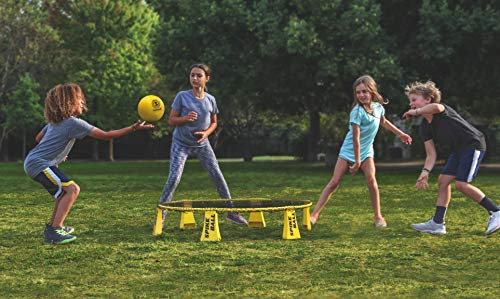 Spikeball Rookie Kit - 50% Larger Net and Ball - Played Outdoors, Indoors, Yard, Lawn, Beach - Designed for Kids 12 and Under by Spikeball (Image #3)