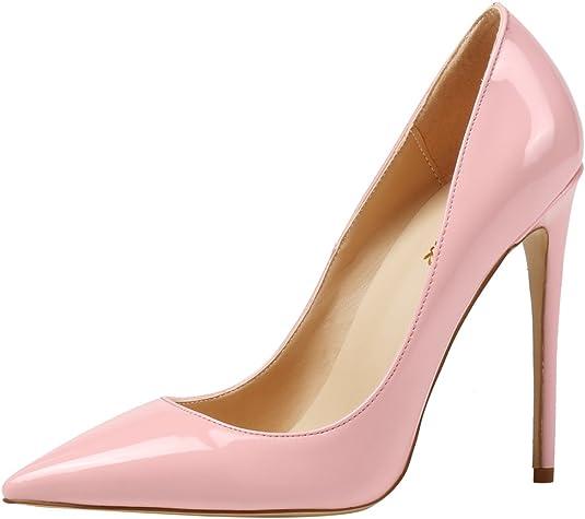 AOOAR - Zapatos de noche clásicos de tacón alto para mujer
