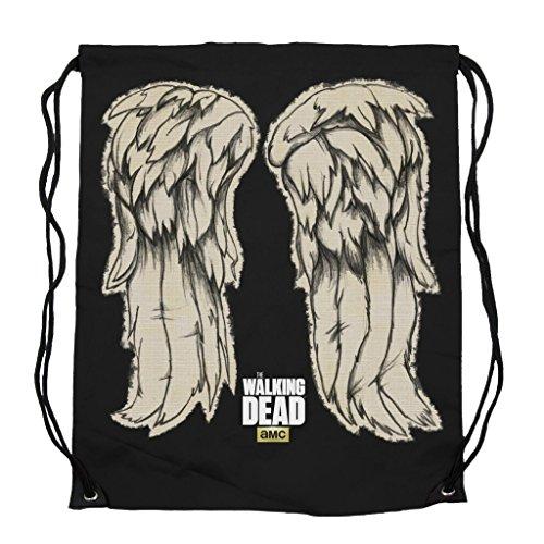 Walking Dead Daryl Wings Cinch Bag