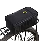 Feileng Water-Resistant Bicycle Rack Bag Trunk Bike Rear Seat Bag Pad Pannier with Rear Seat Light