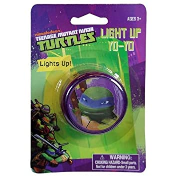 Teenage Mutant Ninja Turtles Light Up Glow Yo Yo for Indoor ...