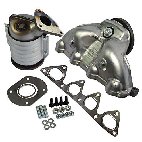 JDMSPEED New 674-439 Exhaust Manifold With Integrated Catalytic Converter For 1996-2000 Honda Civic ()