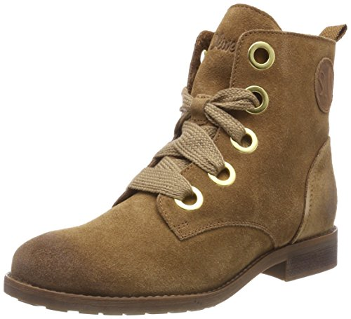 305 Cognac 31 s Oliver para Mujer Botines 25210 Marrón qRP84RzF