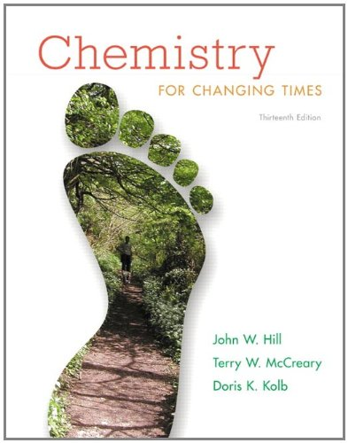 Chemistry For Changing Times, 13th Edition
