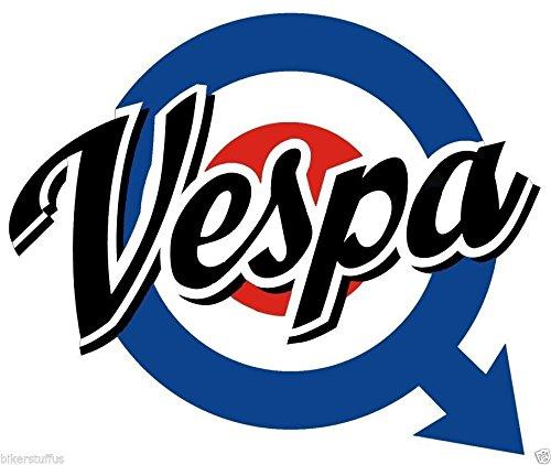 Buy vespa logo decal