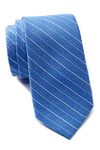 Ben Sherman Striped Tie - Cobalt