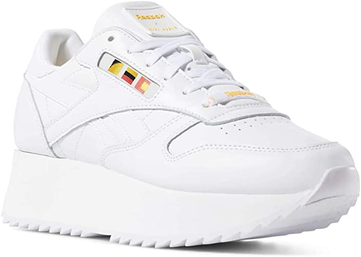 Reebok Classic Leather Double Damen Sneaker Weiß