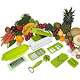 2012 New Genius Nicer Dicer Plus As Seen on TV Multi Chopper 12 Pieces