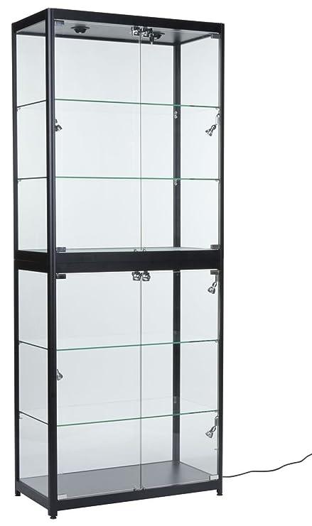Amazon.com: Portable vidrio Templado Caso de la ...