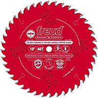 "Freud P410T 10"" x 5/8"" Premier Fusion General Purpose Blade"