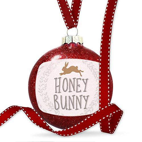 NEONBLOND Christmas Decoration Honey Bunny Easter Rabbit Ornament