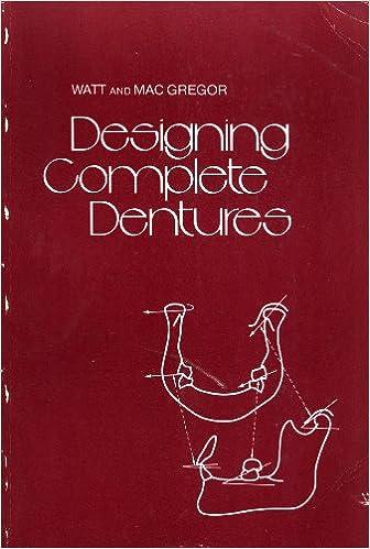 Designing Complete Dentures: David M  Watt, A  R  MacGregor